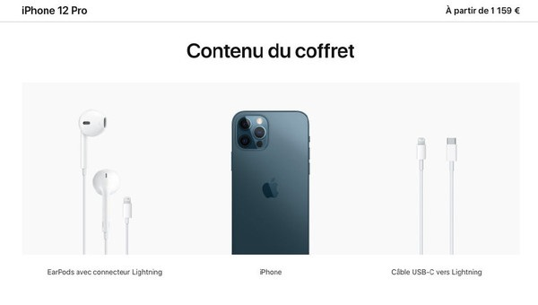 全球独享:iPhone 12系列法国版标配有线耳机