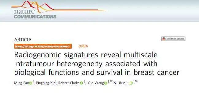 杭电科研团队为乳腺癌无创精准诊疗提供新解决方案图片