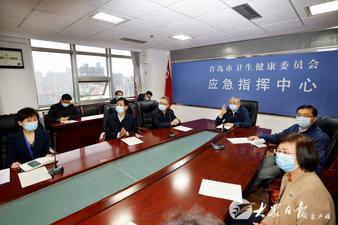 山东省委书记刘家义赴青岛:尽快查清传染源图片
