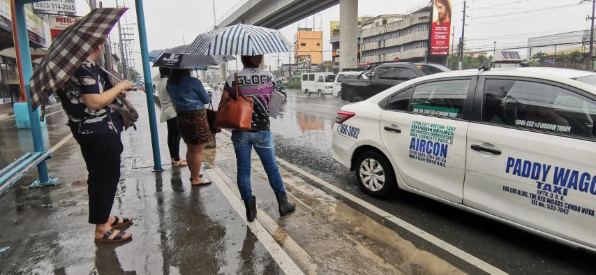 """热带低压""""欧佛""""登陆菲律宾"""