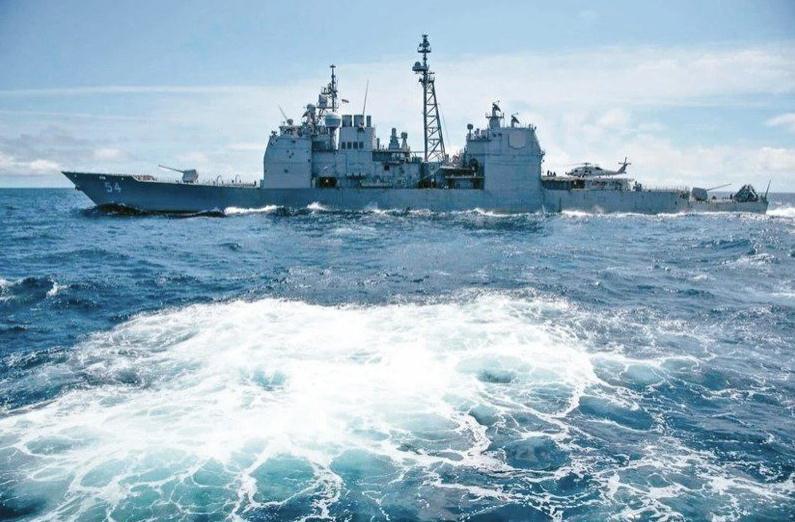 今年第十次!台防务部门称美驱逐舰今天通过台湾海峡