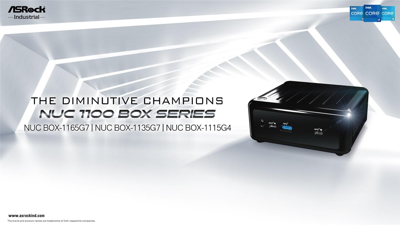 华擎推出 NUC 1100 BOX 盒型电脑:11 代酷睿,双网口