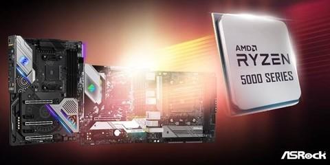 华擎宣布更新 BIOS 以支持 AMD 锐龙 5000 系列处理器