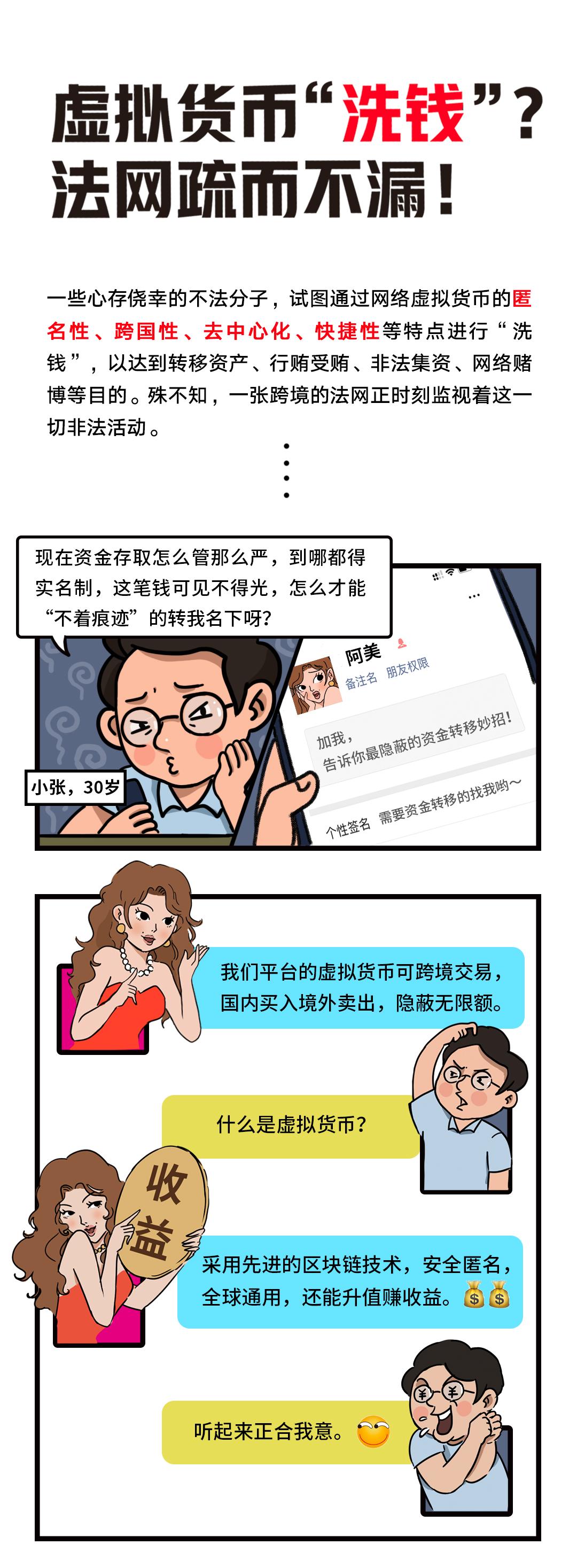 """反洗钱小课堂④:虚拟货币""""洗钱""""?法网疏而不漏!"""