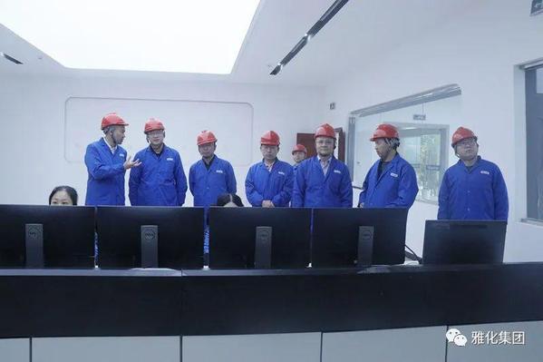 中国有色金属技术经济研究院副院长朱玉华一行到雅化集团雅安锂业参观调研