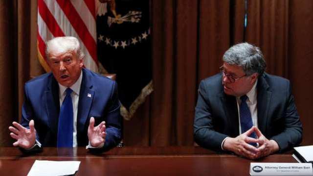 特朗普威胁解雇司法部长:除非他起诉奥巴马拜登等人