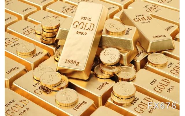 美元指数走弱,黄金一度较日低回升30美元收复1910关口