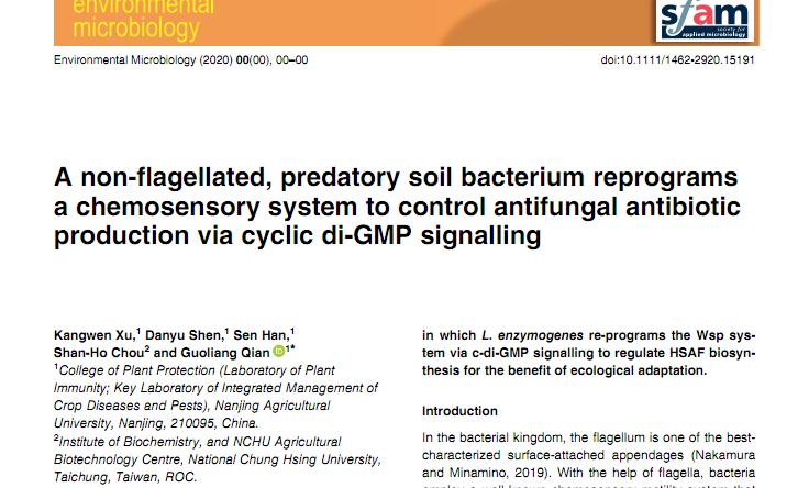 图2 (Xu et al., 2020, Environmental Microbiology)