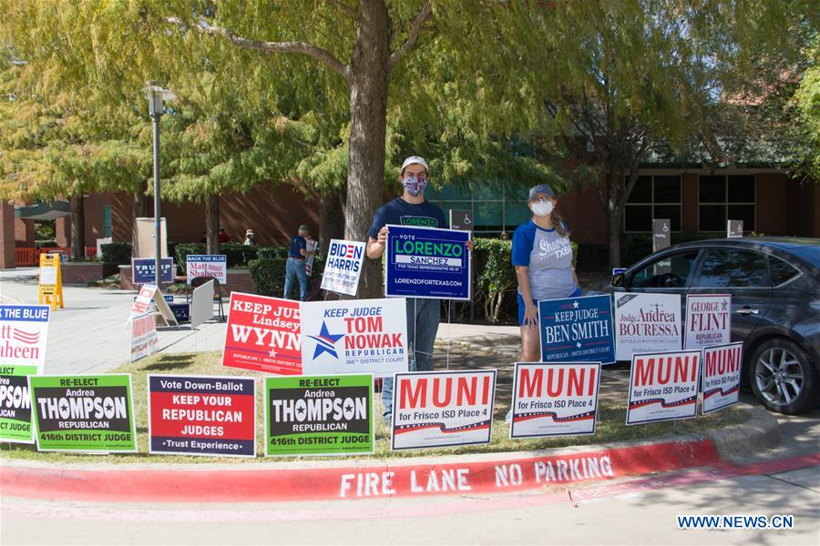 U.S.-TEXAS-PLANO-PRESIDENTIAL ELECTION-EARLY VOTING