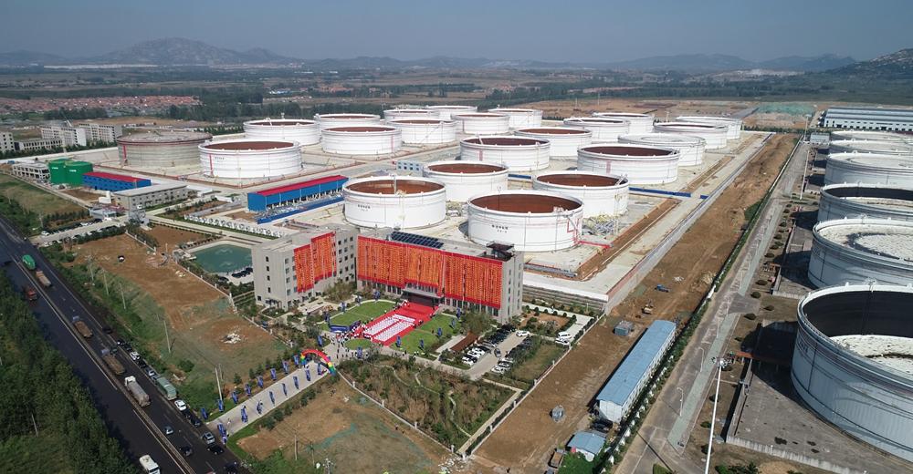 日照德坤原油储备库正式投用 中国原油总库容超2.68亿立方