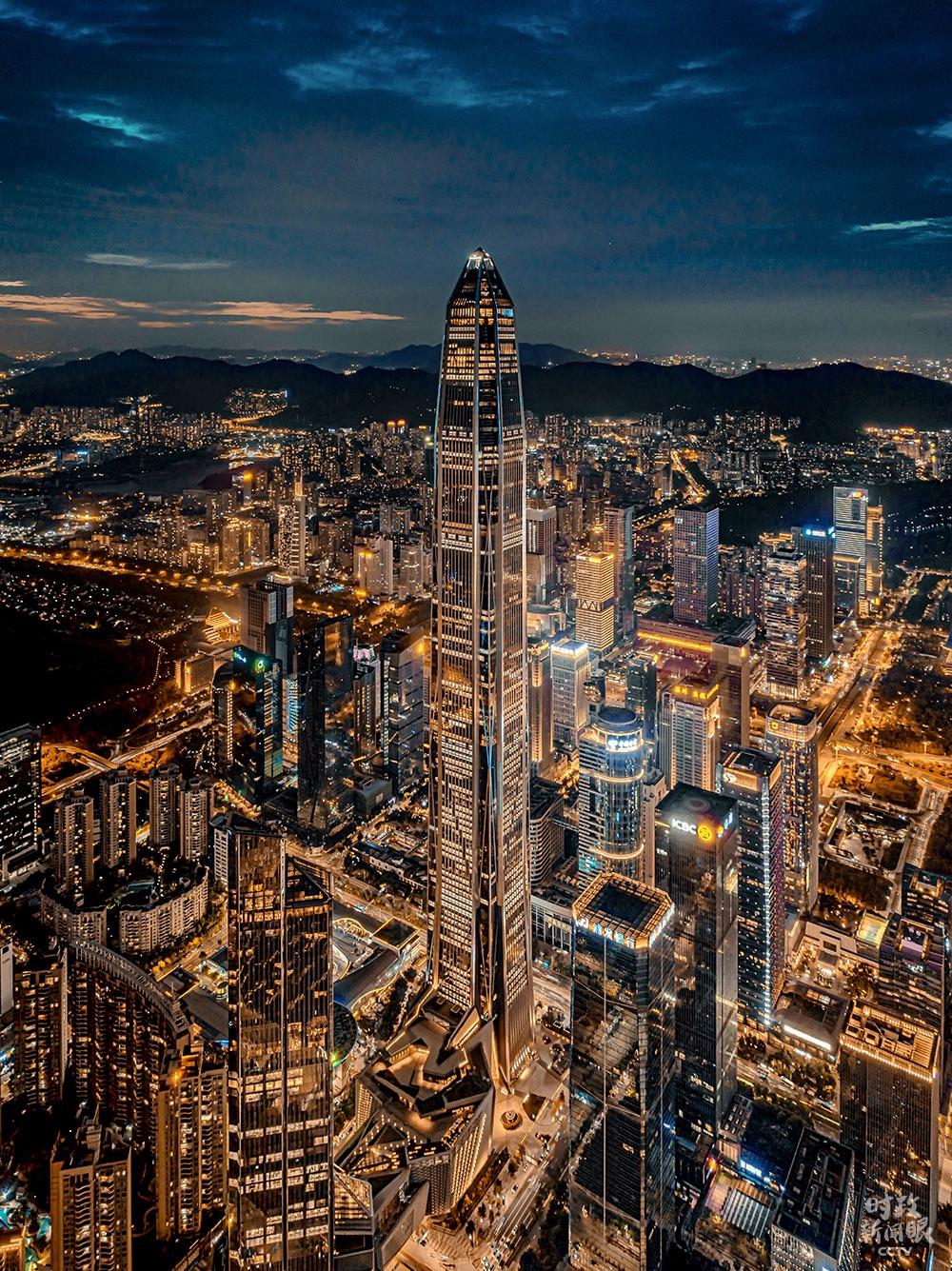 △深圳地標修建之一:安全國際金融中央