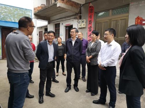 王剑侯调研金华市民政工作图片