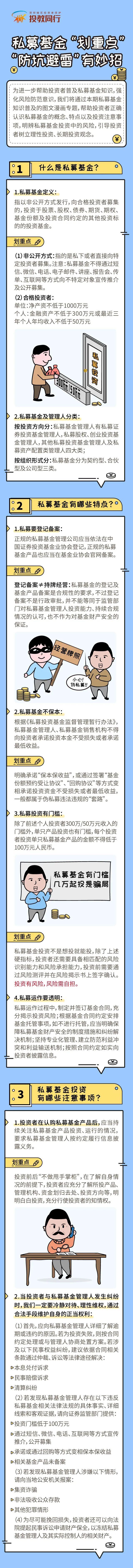 """【投教专题】私募基金""""划重点"""",""""防坑避雷""""有妙招"""