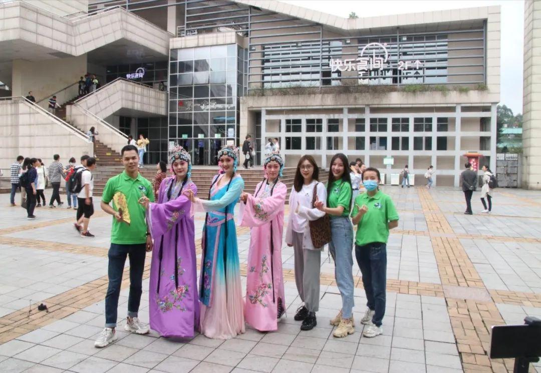 10月17日 重庆大学第四届绿春品牌推广大赛之电商直播大赛图片