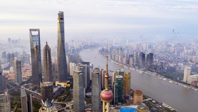 中国CBD总部经济特色突出,陆家嘴金融城领先图片