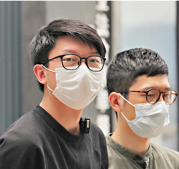 港媒:法庭向乱港分子罗冠聪、张昆阳发出拘捕令图片