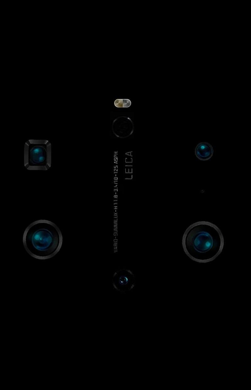 华为Mate 40/Pro系列后置六摄镜头模组曝光