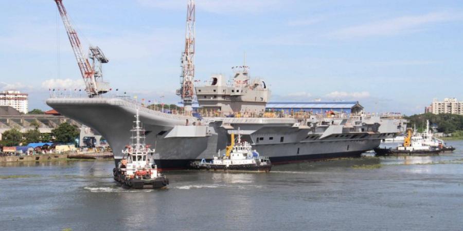 终于造好了:印度首艘国产航母再次试车或将海试