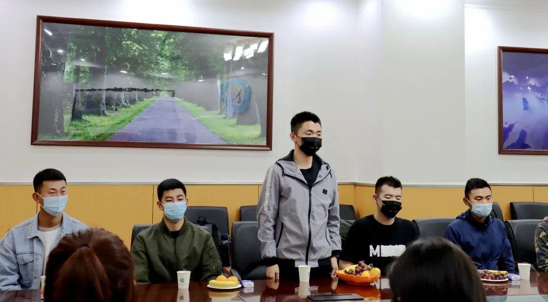 北京信息科技大学召开2020年退伍大学生欢迎暨座谈会