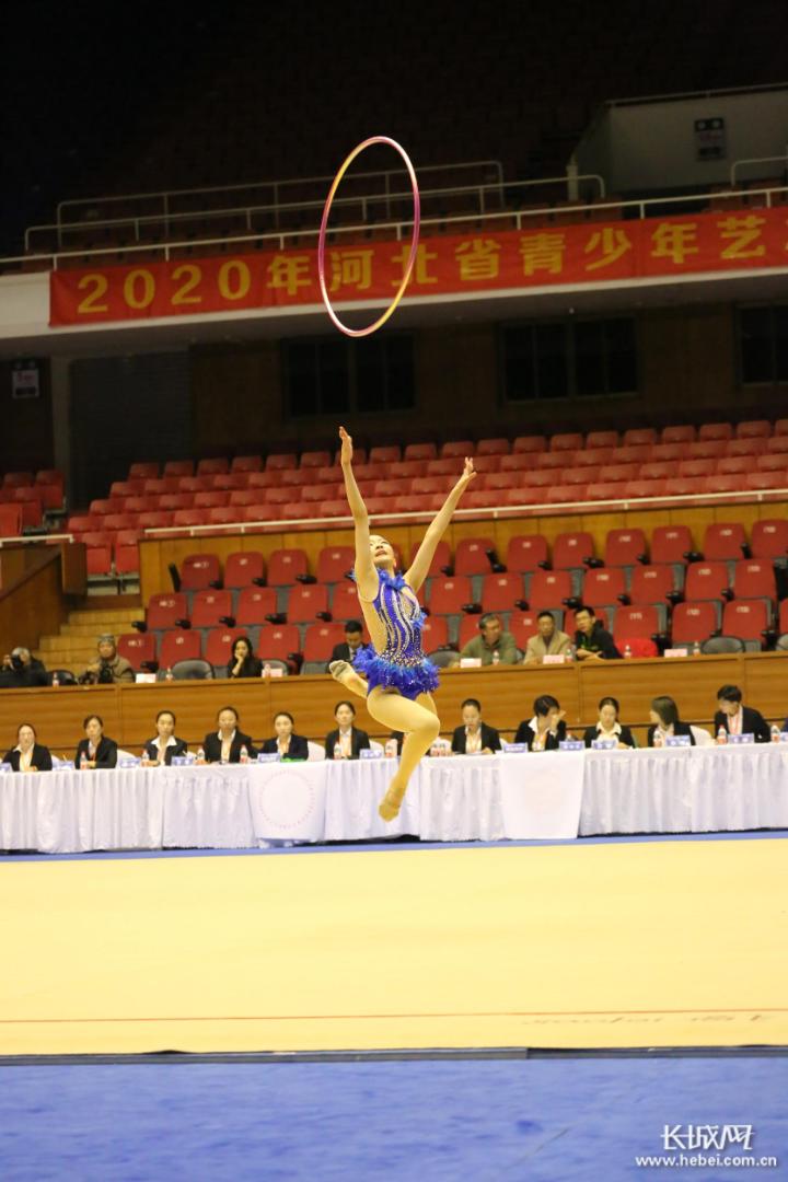 展青春风采 扬艺体精神 河北省青少年艺术体操锦标赛开赛