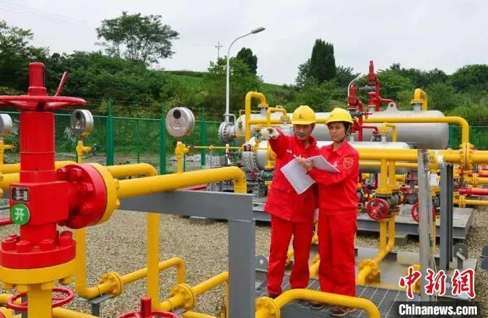 中国石化西南石油局页岩气日产量首破300万立方米