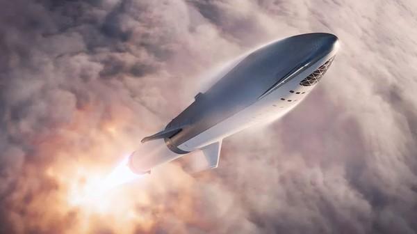 """马斯克""""猜想"""":最早可能在2024年向火星发送星际飞船"""