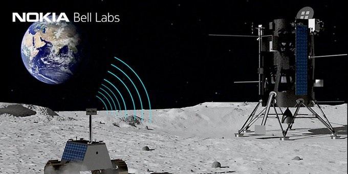 NASA计划与诺基亚联手打造月球4G服务