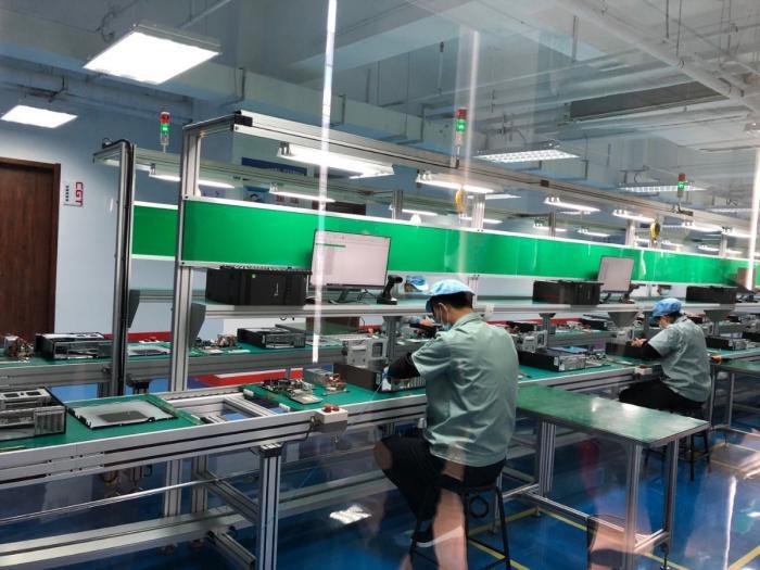 生产自北京 首台国产自主安全电脑下线