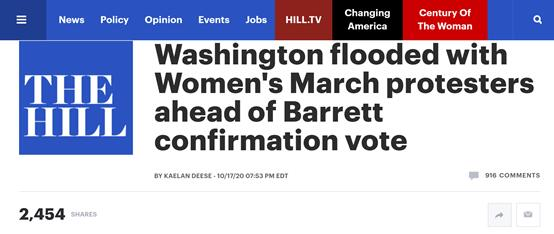 华盛顿爆发大规模抗议活动 呼吁暂停这件事