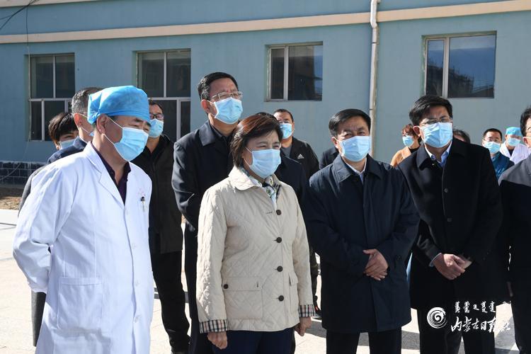 布小林在锡林郭勒盟调研疫情防控和安全生产等工作图片