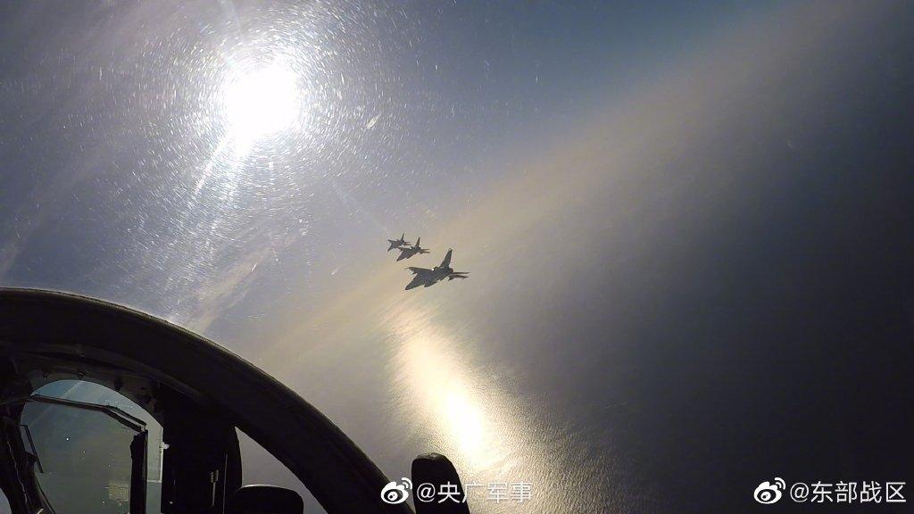 时刻准备战斗!东部战区海军航空兵飞豹战机出击
