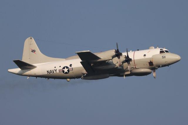美军机对中国实施抵近侦察 一度飞至距领海基线约50海里处图片