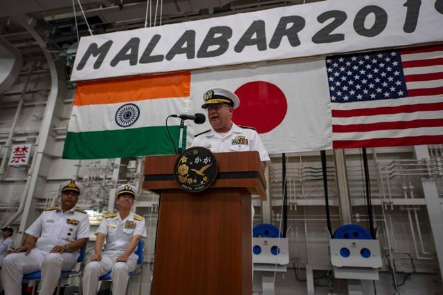 """针对中国的""""亚洲小北约""""?美日澳印军事合作实体化!"""