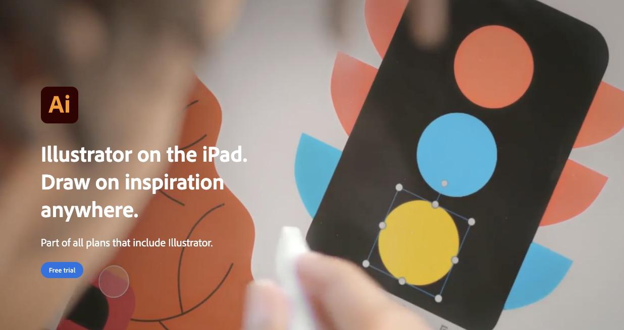 Adobe 发布 iPad 版 Illustrator