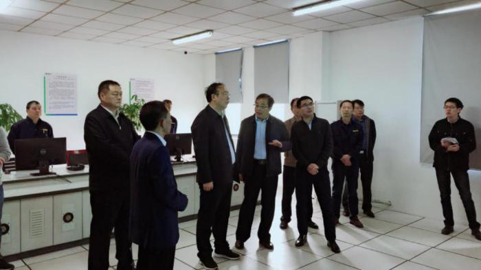 安徽省副省长周喜安调研芜湖市城东污水处理厂
