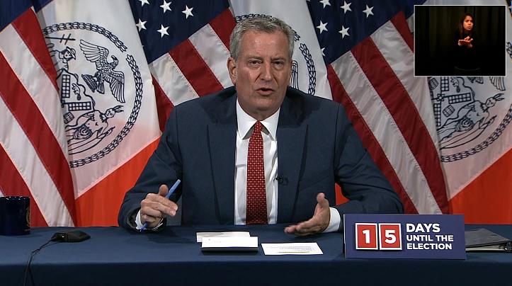 美国纽约新冠病毒测试阳性率超过2%