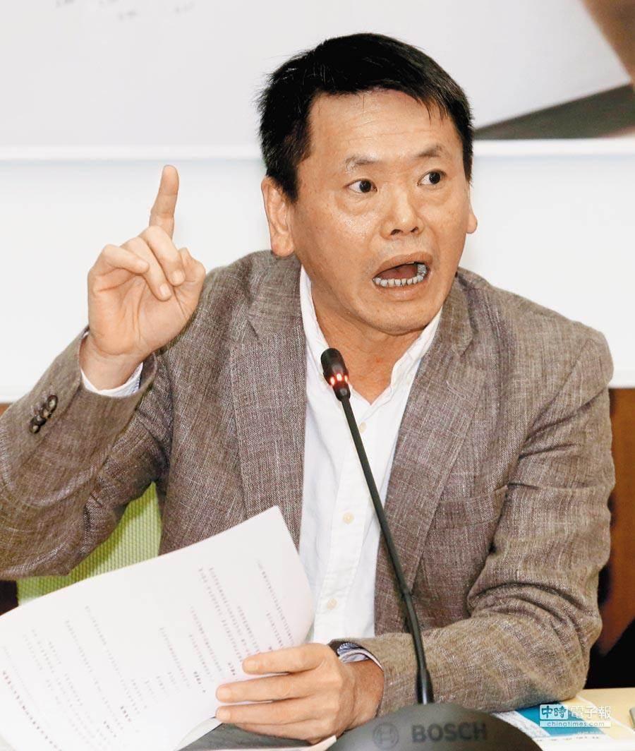 """提议中国国民党改名的""""立委""""又喊""""两岸断绝""""图片"""
