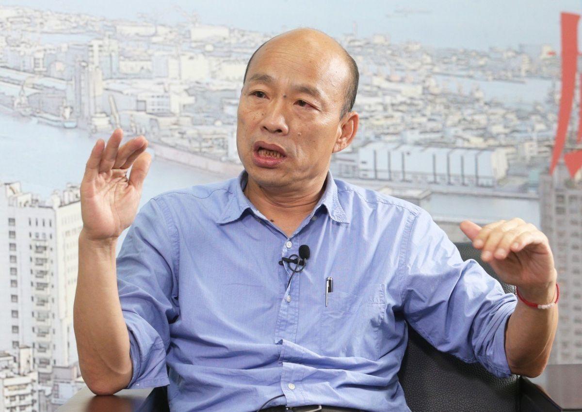 绿营炒作韩国瑜将重返政坛 韩团队四个字回应图片