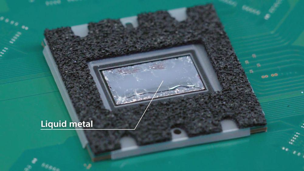 PS5加入液金散热是为降低整体散热成本