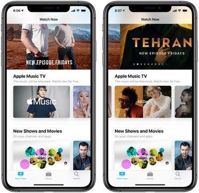 苹果在美国推出Apple Music TV服务