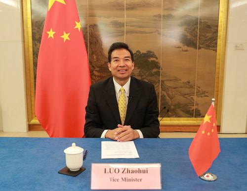 外交部副部长罗照辉出席中国一东盟菁英奖学金开班仪式