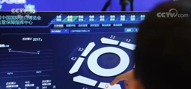 第三届进博会倒计时两周 全新智能监管平台 为进博会保驾护航图片