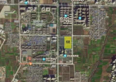 融创、中南、宏府长安区低价成交三宗土地 最高楼面价5160元/平米