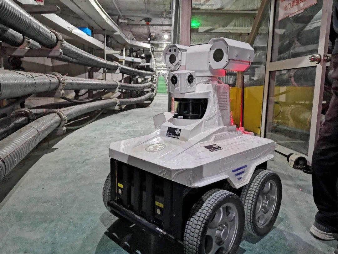 """智慧能源巡检员""""上岗""""啦!中国联通以5G技术助力实现电缆隧道巡检智能化"""