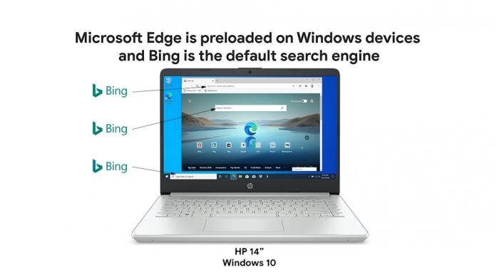 谷歌提及微软默认搜索引擎Bing以回应反垄断诉讼