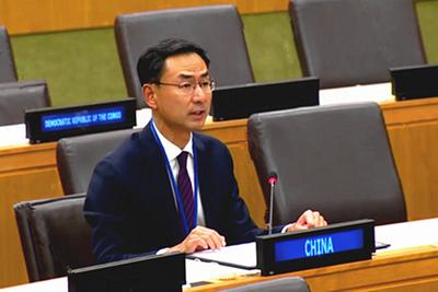 常驻联合国副代表耿爽大使:中国运用法治思维和法治方式开展反腐败工作