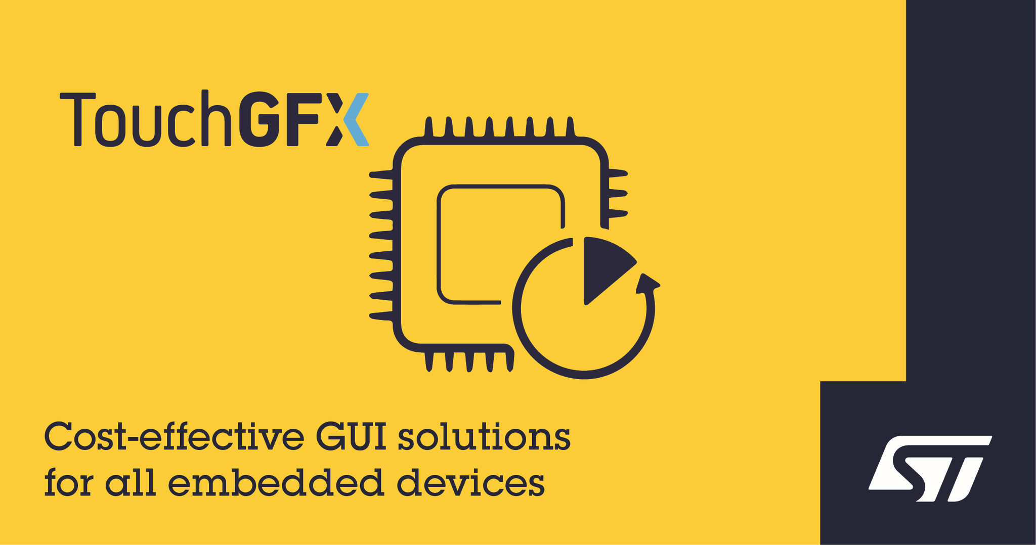 意法半导体简化超低功耗设备GUI设计
