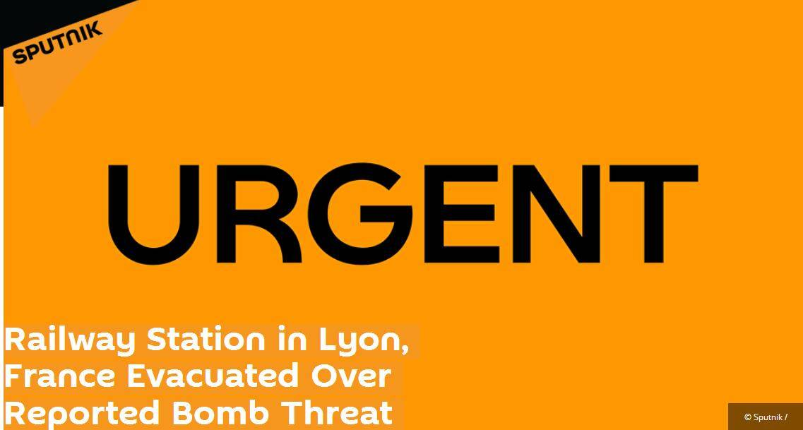 突发!法国一火车站受炸弹威胁被疏散
