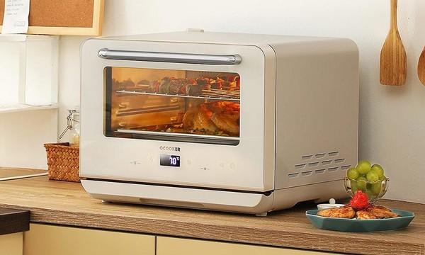 圈厨家用智能蒸烤一体机开启预售 蒸烤合璧玩转食谱