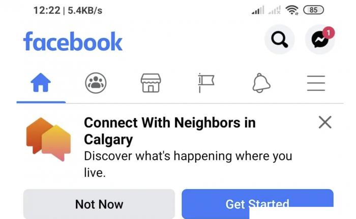 Facebook正在开发Nextdoor的克隆产品Neighborhoods